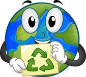 Mascote da terra — Foto Stock