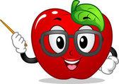 Apple Mascot — Stock Photo
