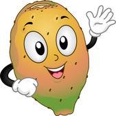Prickly Pear Mascot — Stock Photo