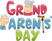 Grandparents' Day — Foto Stock