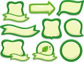 Adesivos de eco-friendly — Foto Stock
