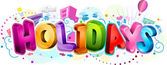 Holidays Design — Stock Photo