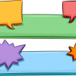 Speech Balloons Banner -  