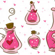 Love Potion Design Elements - Stok fotoraf