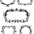 Baroque Frames — Stock Photo