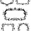 Baroque Frames — Stockfoto