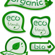 Eco-friendly Stickers — Stock Photo