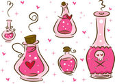 Love Potion Design Elements — Stock Photo