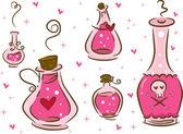 Love Potion Design Elements — Stock Photo