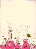Love Potion Background — 图库照片