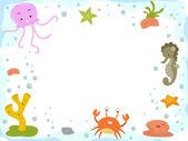 Underwater Background — Stock Photo