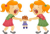 Sibling Rivalry — Stock Photo