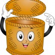 Basket Mascot - Stock Photo