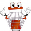Stock Photo: Pushcart Mascot
