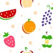 Fruit Stencil Background — Stock Photo