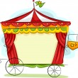 Circus Carriage — Stock Photo