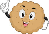 Biscuit Mascot — Stock Photo