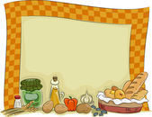Country Style Kitchen Board Background — Stock Photo