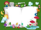 Storybook Background — Foto de Stock