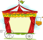 Circus Carriage — Foto de Stock
