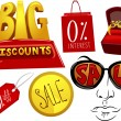 Sale Design Elements - Stock Photo