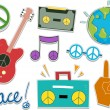 Stock Photo: Peace Sticker Design Elements
