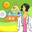 Nutritionist Woman - Foto de Stock