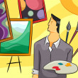 Painter Guy - Stock Photo