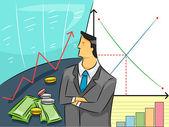 Economist Guy — Stock Photo