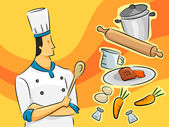 Chef Guy — Stock Photo