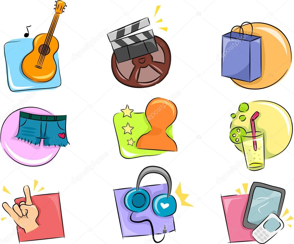 hobbies and interests icon design elements stock photo © lenmdp hobbies and interests icon design elements stock photo 17178817