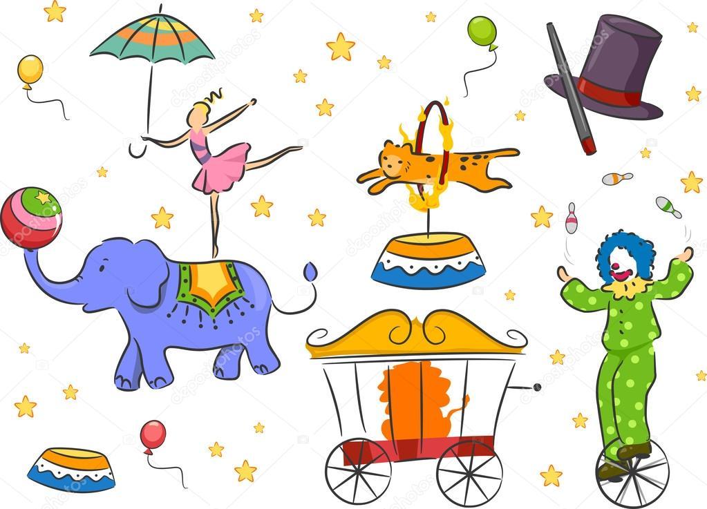 Elementi di design del circo foto stock lenmdp 17178857 for Elementi di design