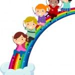 Постер, плакат: Diversity Rainbow