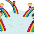 Diversity Rainbows — Foto de Stock