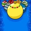 Christmas Balls Background — Foto de Stock
