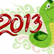 Year of the Snake — Foto de Stock