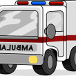Toy Ambulance — Stock Photo