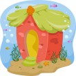 Underwater House — Foto de Stock