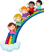Diversity Rainbow — Stock Photo
