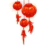 Chinese New Year Lantern Background — Stock Photo