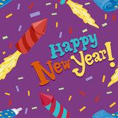 Seamess New Year — Stock Photo