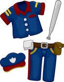Police Costume — Stock Photo