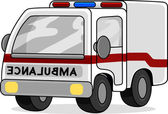 Leksak ambulans — Stockfoto
