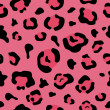 Leopard Pink Animal Print Background - Foto de Stock