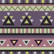 Aztec Print Background - Foto Stock