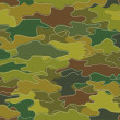 Camouflage Print Background - Foto Stock