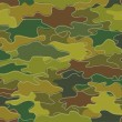 Camouflage Print Background — Stock Photo