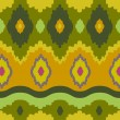 Ikat Print Background - Foto de Stock