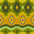 Ikat Print Background - Foto Stock