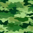 Green Camouflage Print Background - Foto de Stock
